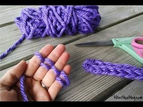Arm Knitting Step By Step : Best arm knitting images finger
