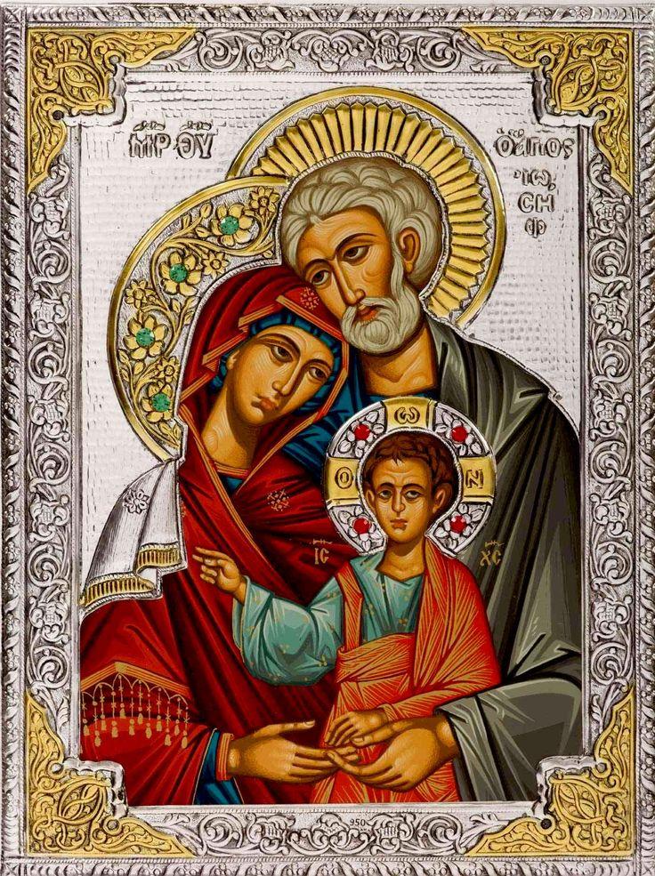 1000 images about icone sacra famiglia e san giuseppe on - Estilo sagrada familia ...