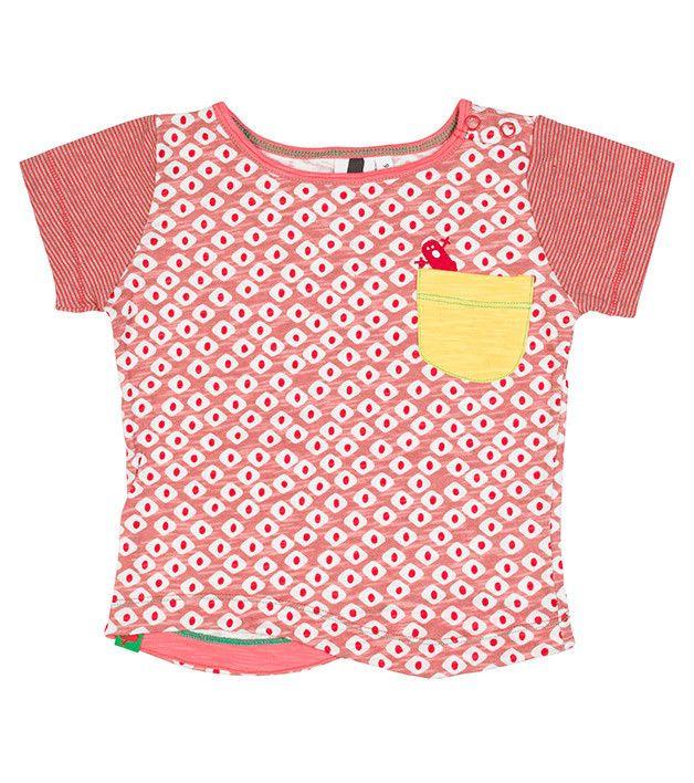 Koi Beauty SS Pocket T Shirt, 12-24
