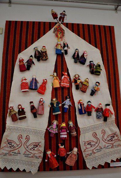 Куклы Алевтины Бебениной.