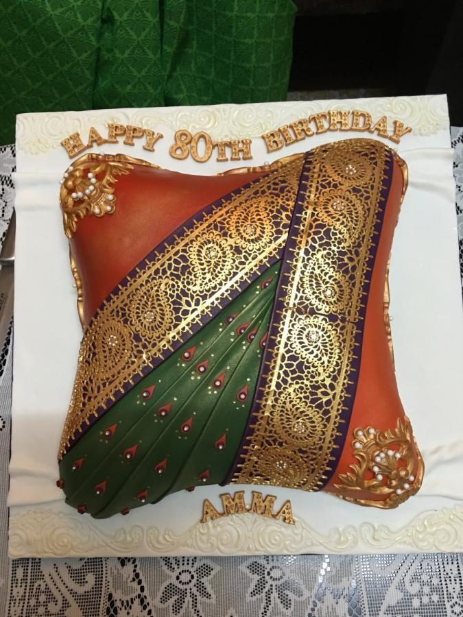 Saree Cake - Cake by Jane Nathan