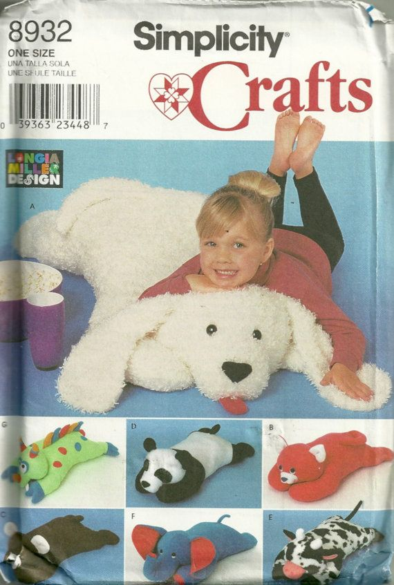 How To Sew Animal Pillows : 1000+ images about Stuffed animals on Pinterest Sewing patterns, Animal sewing patterns and ...