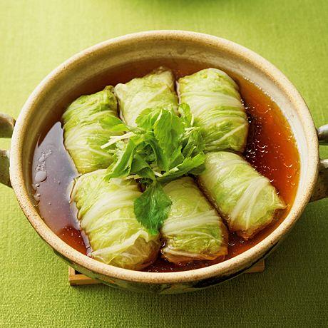 和風ロール白菜 | 野口真紀さんのロール白菜の料理レシピ | プロの簡単料理レシピはレタスクラブニュース