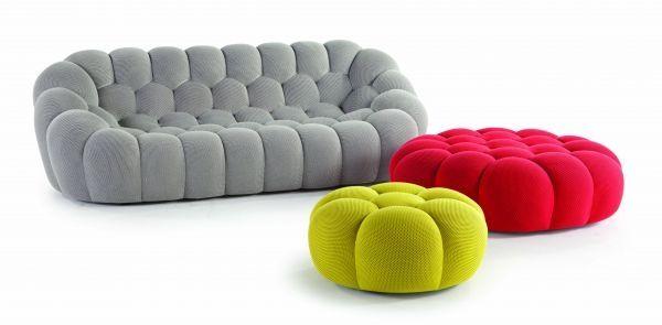 En partenariat avec le designer Sacha Lakic, la marque de luxe française de meuble Roche Bobois lance la nouvelle collection automne Hiver 2014 sous le signe des imprimés graphiques, du style inspiré de la nature et de quelques pièces rétro revisitées. Roche Bobois dévoile des pièces de meubles trempe-l'œil, des fauteuils et canapés qui invitent le confort. Parmi les créations, on découvre le fauteuil Bubble, il est conçu comme une corbeille de ballon, recouvert d'un tissu extensible dans…