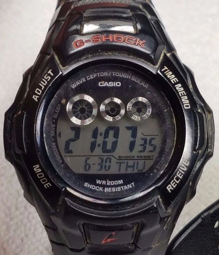 Casio Gshocks GW-530A Wave Ceptor/Tough Solar & G-9000 Mudman 200m WR