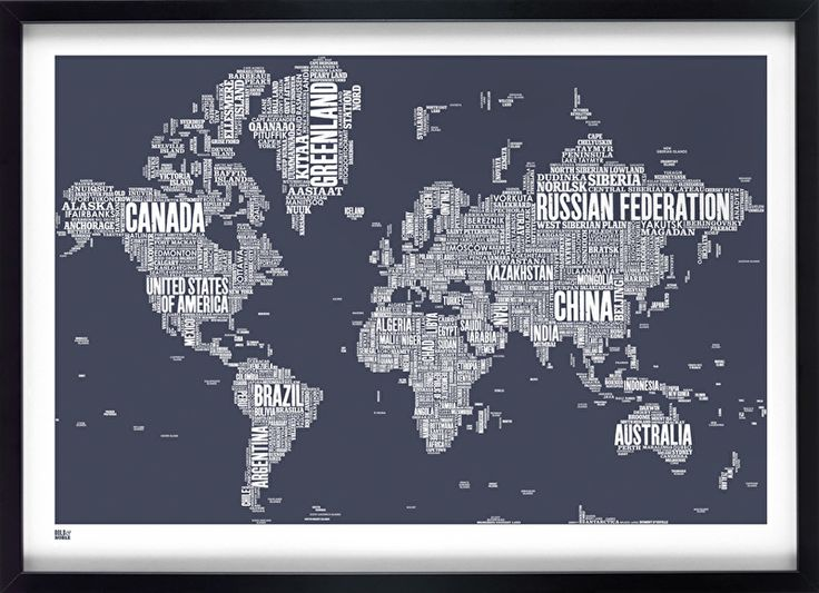 World Type Map