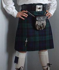 История мурской национального костюма шотландий