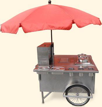 Hot Dog Wagen als Hot Dog Stand in Berlin leihen, bzw. mieten.