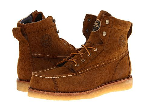 """I want these bad boys so bad since 2012.  Irish Setter Bar Boot 7"""" Soft Toe Brown - Size 10, available at Redwing store in this color and work clothing store at Northgate in black. Prefer this color."""