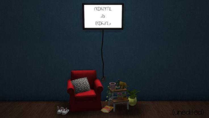 driana: Simlish Lightbox | Sims 4, Light box, Home decor ...