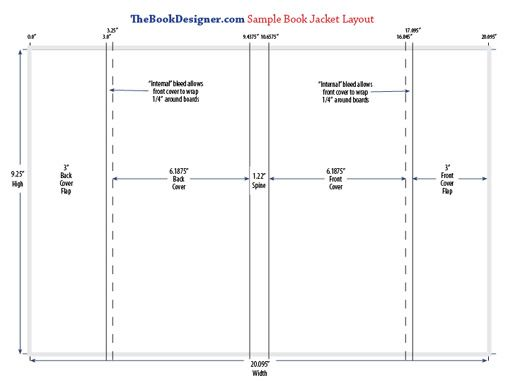 book jacket template