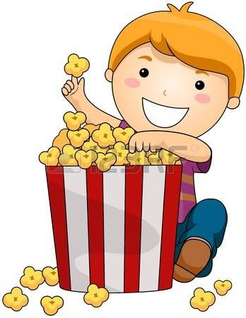 Boy with Popcorn