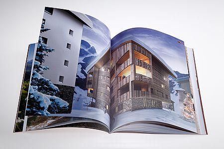 ANDERMATT SWISS ALPS // »STEINADLER« BROCHURE –printed on heaven 42 soft matt absolute white,150 g/qm