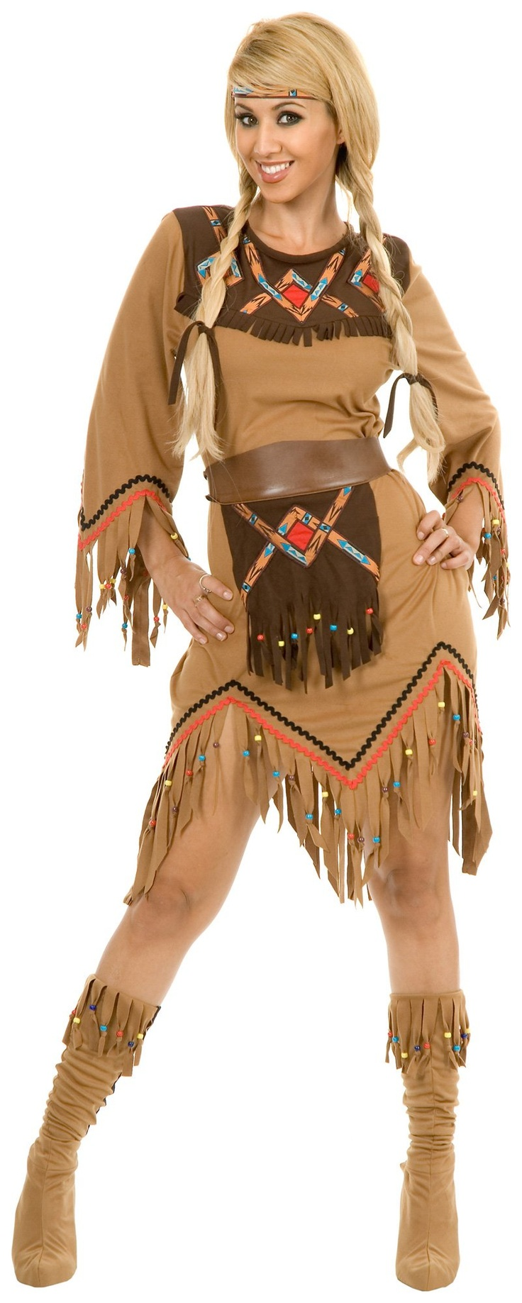 Sacajawea Indian Maiden Adult Costume  Costumes  Make Up -6480