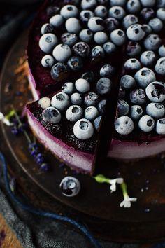 No Bake Blaubeer Cheesecake - No Bake Blueberry Cheesecake   Das Knusperstübchen