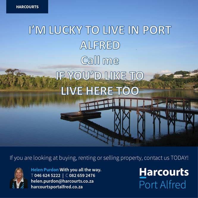 http://portalfred.harcourts.co.za #Harcourts #PortAlfred #BuyingAHome #SoleMandate