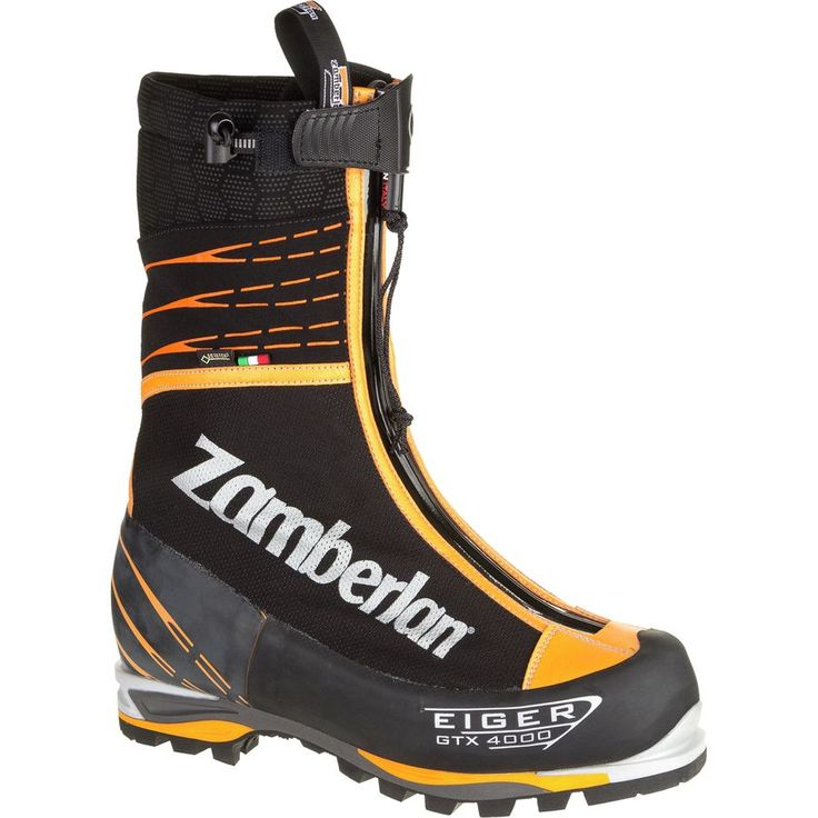Zamberlan - 4000 Eiger Evo GTX RR Mountaineering Boot - Men's - Black/Orange