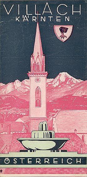 Villach Kärten Österreich1935