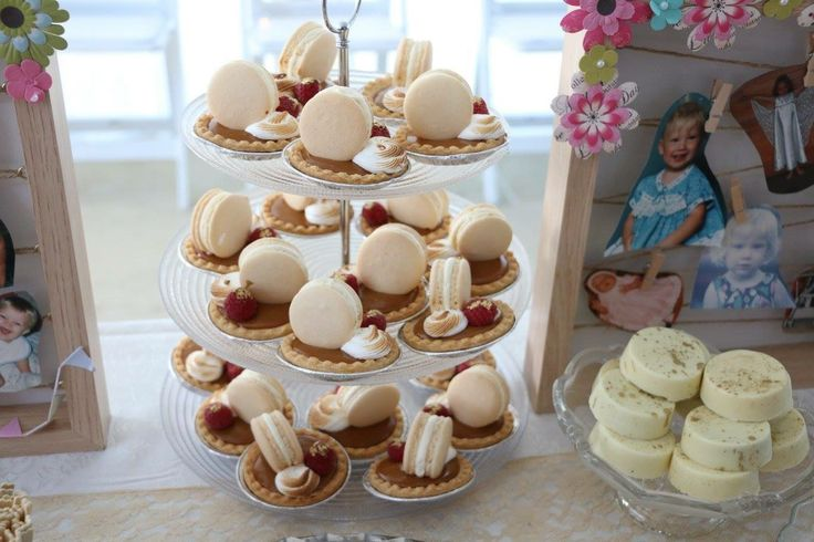 Tea party sweets, baby shower, gender neutral