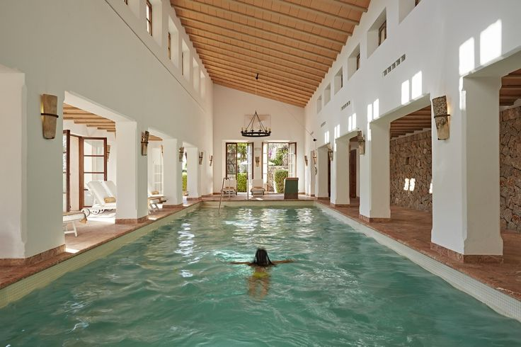 Whether to relax or work out, a swim in the indoor pool at the Spa is always an excellent choice