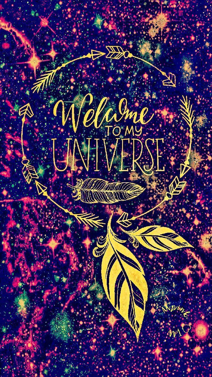 wel e golden galaxy wallpaper androidwallpaper