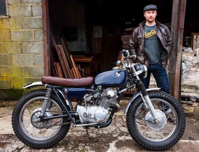 pinterest.com/fra411 #classic #motorbike #honda - Ross's CL 9