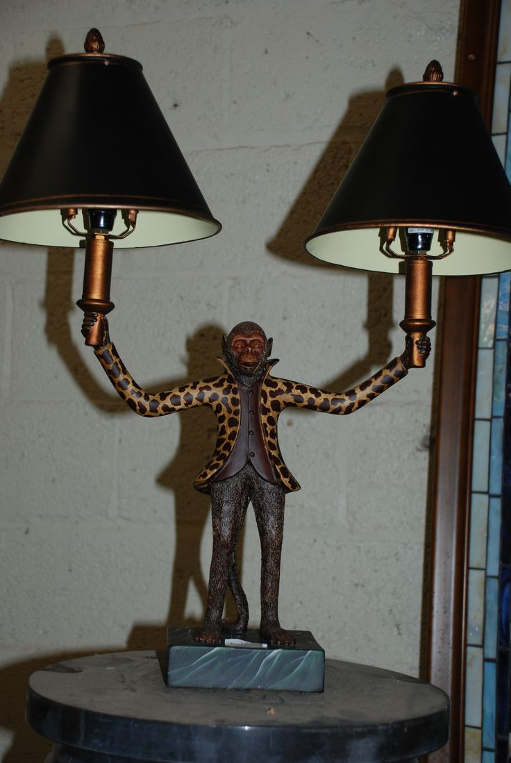French monkey lamp - Want