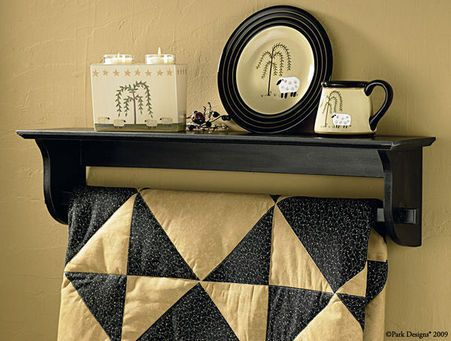 24 best Quilt racks images on Pinterest | Shelves, Dining rooms ... : quilt shelf wall hanger - Adamdwight.com