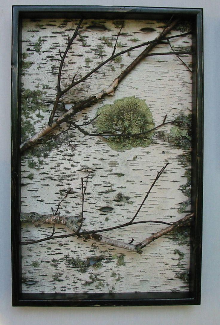 Best 25 birch branches ideas on pinterest open art for Tree trunk wall art
