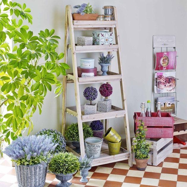 Les 25 meilleures id es concernant etagere maison du monde sur pinterest deco maison du monde - Etageres plantes exterieur jardiland ...