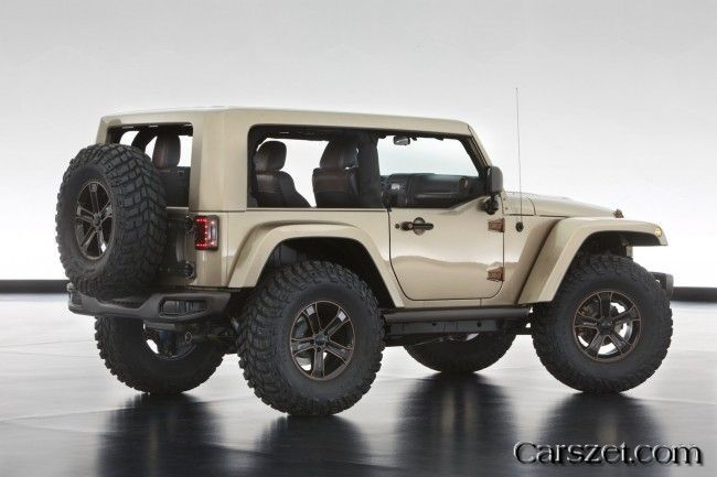 6 2018-2019 Jeep concept model, to mark the opening of the Moab Easter 2018-2019 Jeep Safari