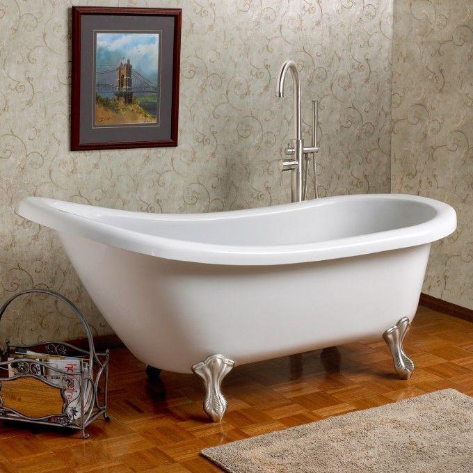 9 best freestanding acrylic bathtubs images on pinterest for Best acrylic bathtubs