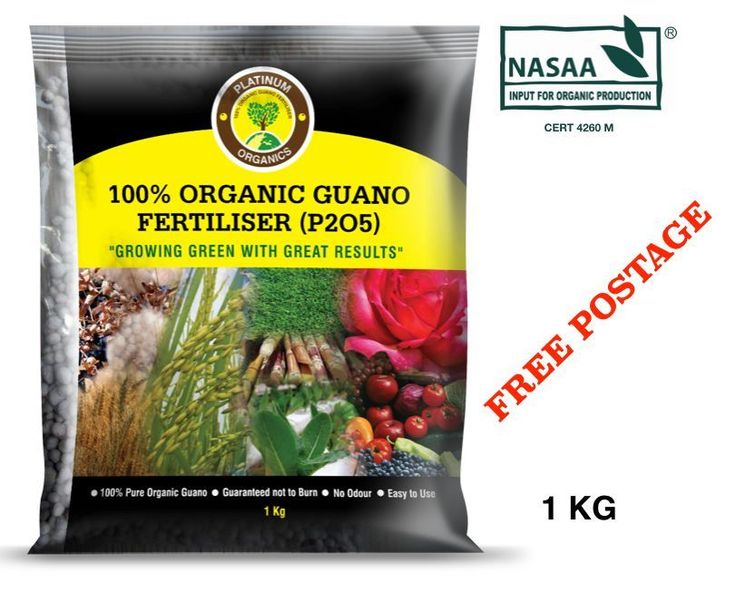 1 kg Guano Organic Fertilizer - Direct from the Manufacturer + FREE POST