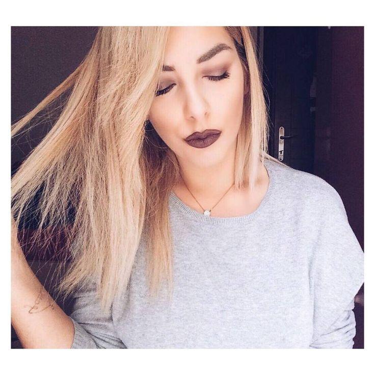 Dark lips #darklips #purple