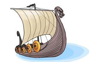 how to draw a pirate ship step by step easy