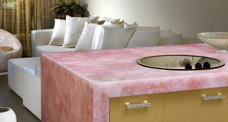 Rose Quartz Stone Meaning Healing Properties Quartz Countertops Countertops Home Decor