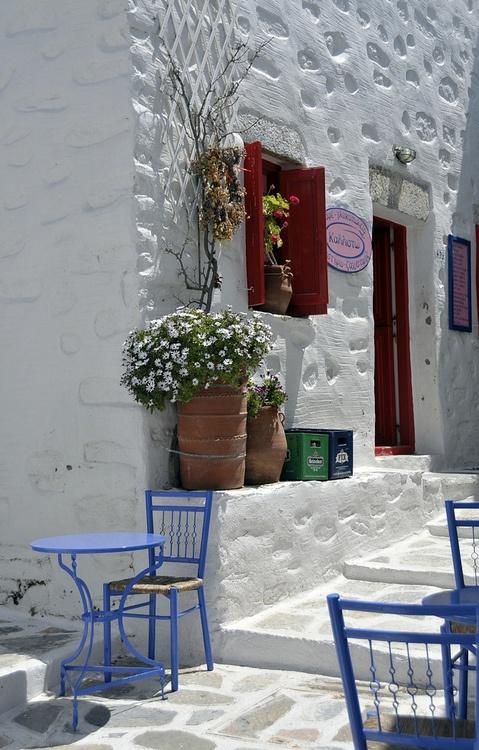 Amorgos island , Greece