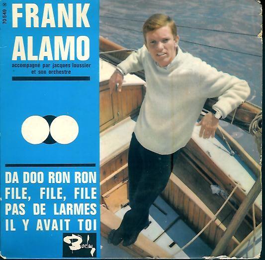 """Frank Alamo - EP - 3da doo ron ron"""" - 1963"""