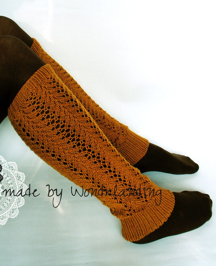 Free Knitting Pattern for Prima Legwarmers - ace legwarmers designed by Sarah Wilson. Pictured project by wondrlanding