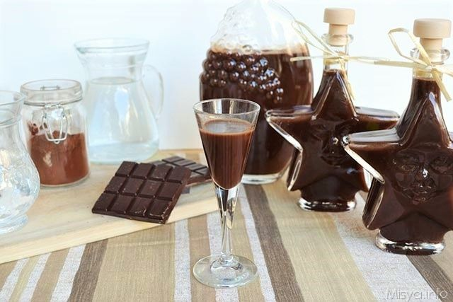 Liquore al cioccolato bimby