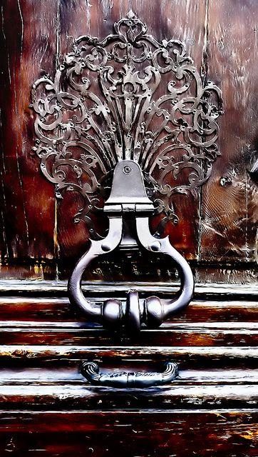 Beautiful door knocker