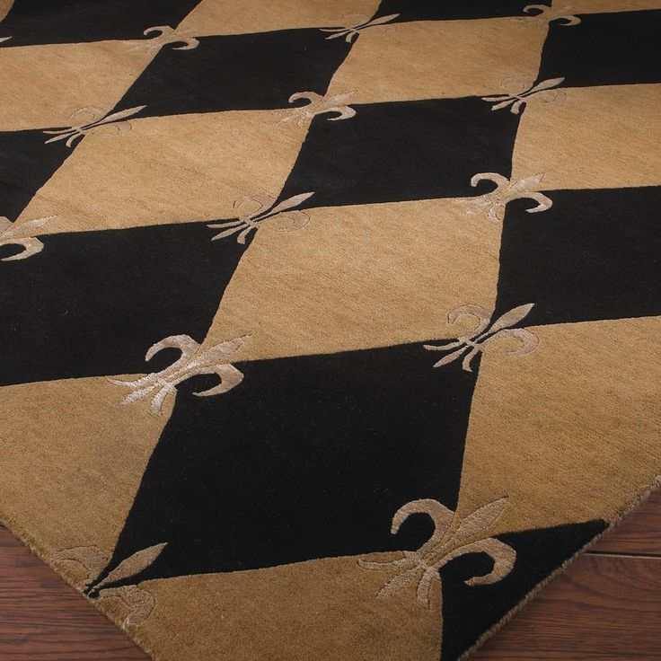 Love This Rug For Laundry Room Harlequin With French Fleur De Lis Charming