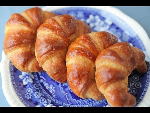 ▶ рецепт круассаны The French Croissant - YouTube