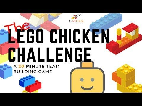 A team building exercise called the Lego Chicken Challenge that will