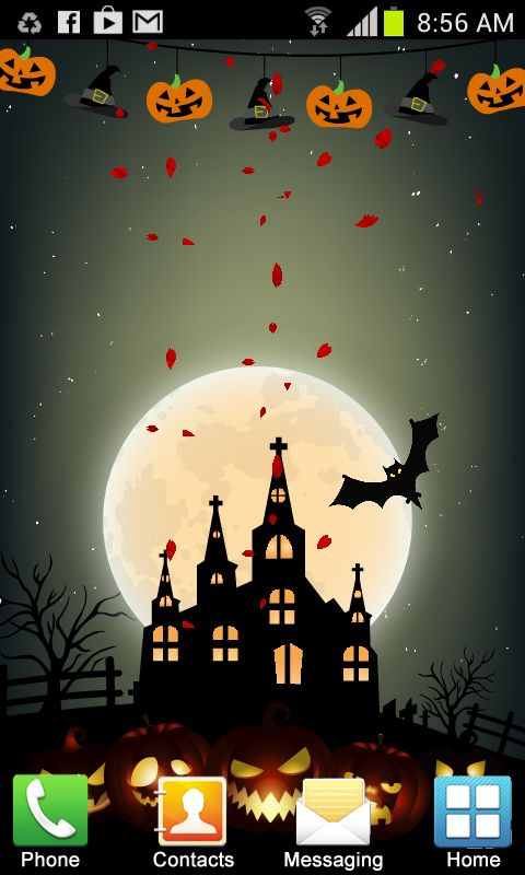 Halloween Live Wallpaper New free app download - Android Freeware