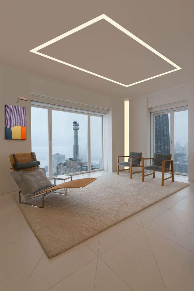 Modern Contemporary Led Strip Ceiling Light Design 8 Ceiling Light Design Ceiling Design Modern Ceiling Design Living Room
