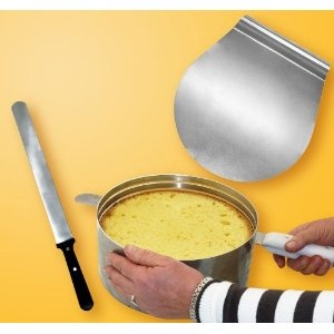 Zenker Layer Cake Slicing Kit.  $46.99   If you're doing multiple slice, you want them uniform and Zenker lets you level up to 8 layers. http://www.amazon.com/gp/product/B003AZZB8I?ie=UTF8=learncente0b-20=xm2=B003AZZB8I