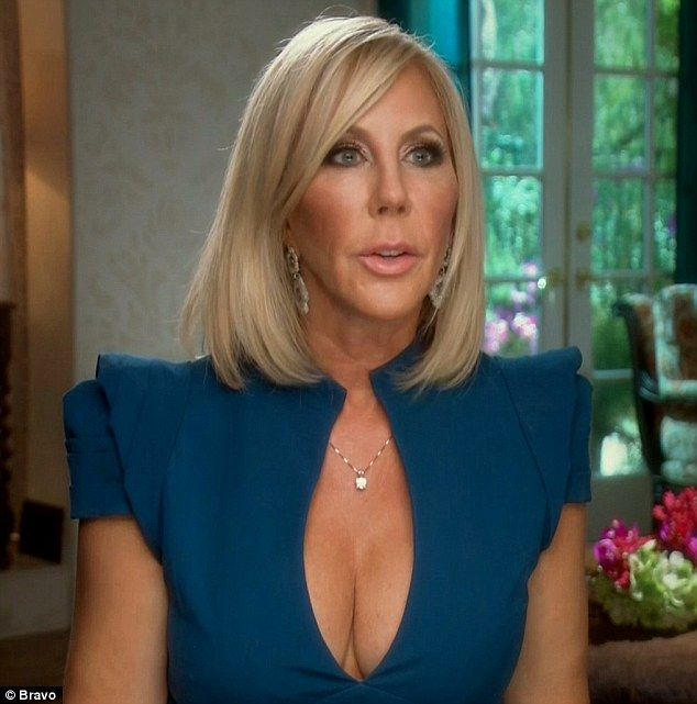 Medical scare: Vicki Gunvalson rushed her daughter Briana Culberson to hospital on Monday's episode of The Real Housewives Of Orange County