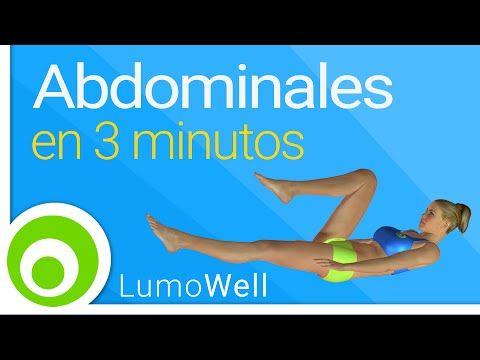 Rutina de abdominales de SOLO 3 MINUTOS para ejercitar superiores, inferiores y oblicuos (VIDEO) | Adelgazar - Bajar de Peso
