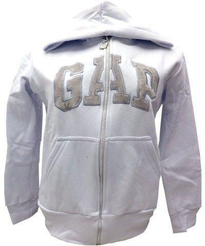 Blusa de Moletom GAP - C/ Ziper- Masculino (6 cores)